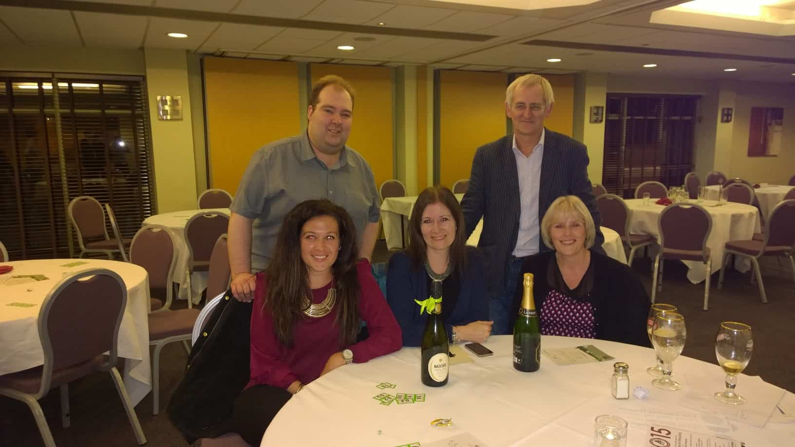 Blunts win charity quiz in support of East Cheshire Hospice